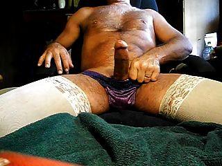 Cumming Wear My Pantys & Stockings
