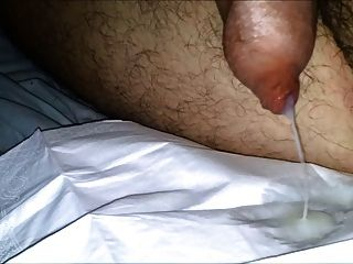 Cock With Tight Foreskin Cumshot No Hands (phimosis)