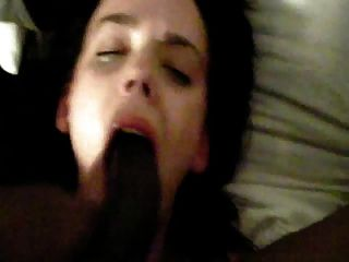 Young Girl Gets Turned Out By Black Cock Suck + Fuck