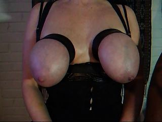 Dick Slapping Her Tits