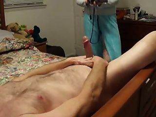 Jerking Off In Front Of My Wife: Cfnm