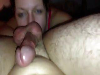 Slut Sucks Cock For Money