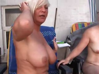 Hot Lesbians Mature Trio With Big Tits