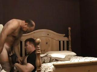 Cop Daddies In Bed