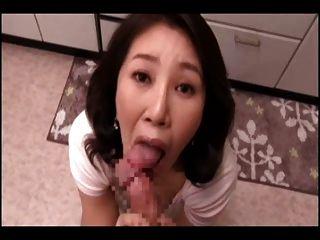 Japanese Mom Pov Suck (cens)