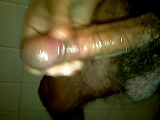 Much Cum  Jerking Off  Milking My Hot Dick Oiled