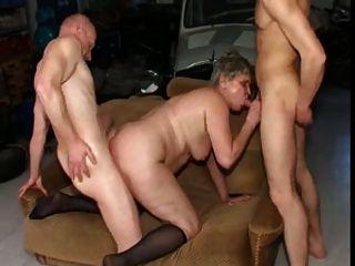 Bbw Grannies Enjoy Hardcore Fucking