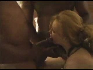 Wife Enjoys Holiday With A Gangbang With 3 Bbc