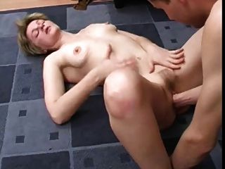 Skinny Blonde Mature Fucked And Fisted By A Younger Man