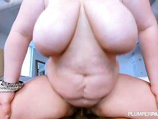 Big Boobed Bbw Veronica Vaughn Loves Huge Black Cocks