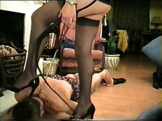 Cruel Madam With New Slave.