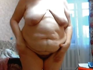 Gilf Stefany Standing With Big Fat Belly