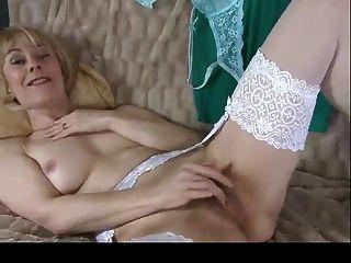 Milf Hazel Showing Hairy Pussy Twice Bvr