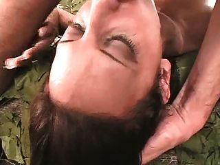Stupid Whore Gets Her Throat Fucked Dtd