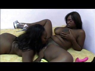 Ebony Milfs Lesbian Action