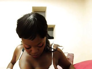 Sexy Ebony Webcam Babe Shows Big Tits And Hard Nipples