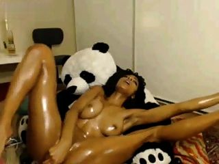 Ebony Creamy Toying 393