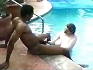 Big Titty Pool Bitch