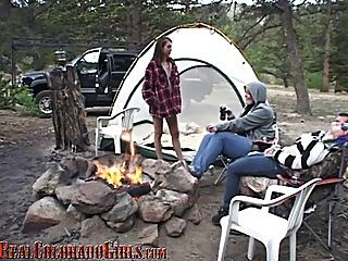 Colorado Camping Sex Part 1 - The Girls Get Naughty
