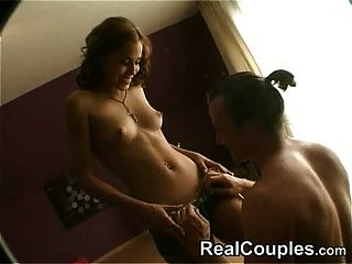 Real Couple Satin & Cage - Part 1