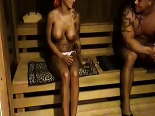 In The Sauna 1 By Snahbrandy