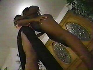Black Lesbian Kissing