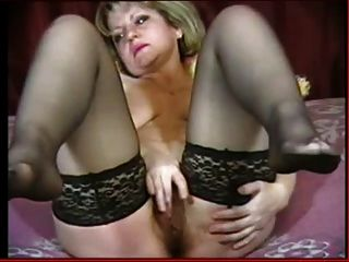 Hot Milf Fingers In Nylons And Shows Feet Encore