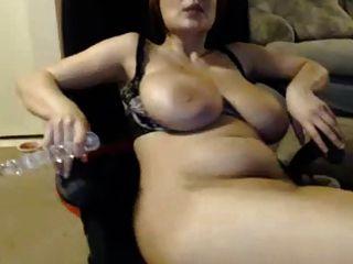 Girl Licks N Sucks Nipples, Spreads Pussy N Play