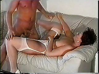 Horny Couple Turn Off Tv And Turn On Each Other