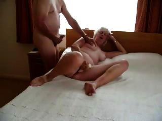 Granny With Vibrator