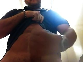 Str8 Bear Quick Cum At Work