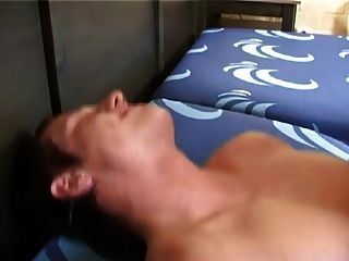 Sexy Blonde Guy Takes A Big Bareback Dick In His Ass