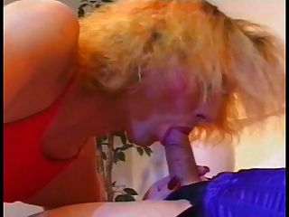 One Hot Shemale Gets A Blowjob From Another And Cums On Her Face