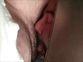 Sucking Uncut Cock Under Stall