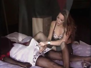 Fun With Silky Nylon Slips