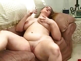 Chubby  Girl Smokes