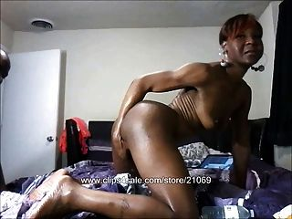 Interracial Shemale Cock Gangbang