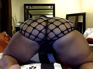 Big Black Ass Webcam Tease 2