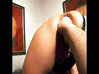 Red Mask Rachel - Doggy Fist   Squirt