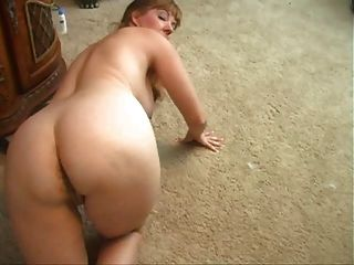Mature Shows Off Her Asshole