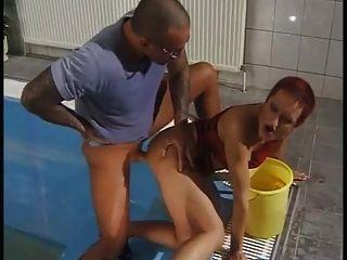 Susana De Garcia - Sex In Pool 2