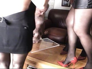 Cock Crush With Heels