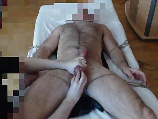 Me Milk Very Hairy Doctor With Great Cock And Balls - Tied