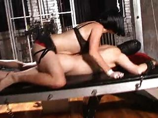 Brunette Mistress In Dungeon 1