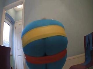 Big Ass Rubber Band Stretching