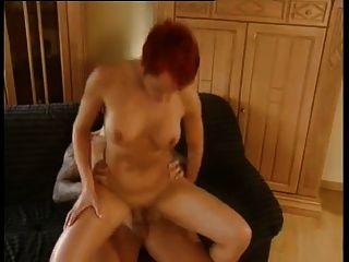 Susana De Garcia - Fuck On The Sofa