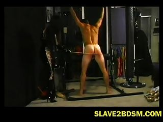 Well Built Man Punished Hard By Mistress