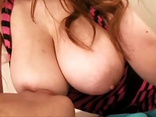 Japanese Big Breast Licking And Smothering