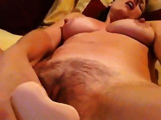 Mature Dee Fucking Herself With A Dildo