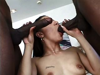 India dee mocha monique makes byron long their bitch - 3 6